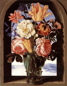 Dubois Ambroise (Ambrosius Bosschaert) - Bouquet of Flowers