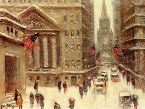 Guy Carleton Wiggins - Winter, new york
