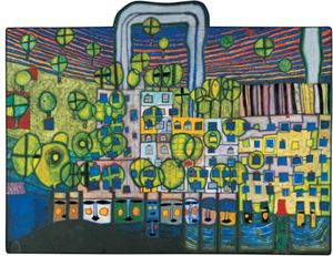 Friedensreich Hundertwasser - The third skin