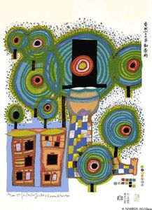 Friedensreich Hundertwasser - Peace Treaty With Nature