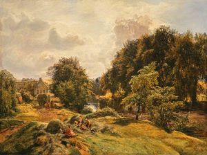 Alexander Fraser - On the avon - haymaking time