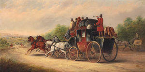 John Charles Maggs - The bristol to london mail coach