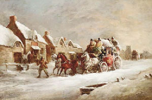 John Charles Maggs - The london-brighton royal mail coach