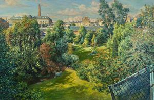 James Mcintosh Patrick - City garden