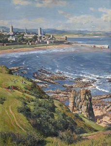James Mcintosh Patrick - East Sands and Harbour