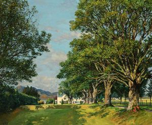 James Mcintosh Patrick - Edradour house, pitlochry