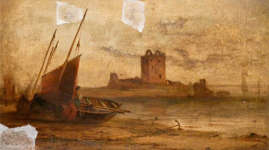 Order Reproductions | Broughty castle by John Cairns | WahooArt.com