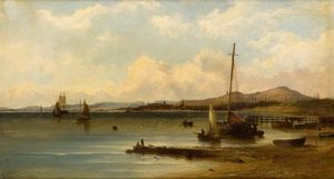 John Cairns - Dundee – On the River Tay