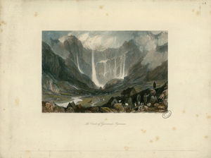 Thomas Allom - The Circle of Gavarnie