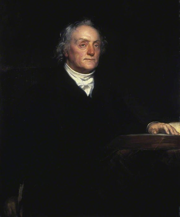 Reverend thomas chalmers by Thomas Duncan (1874-1966)