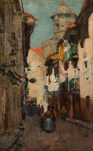 William York Macgregor - Spanish town