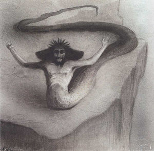Alfred Kubin - Another dream beyond the chaos
