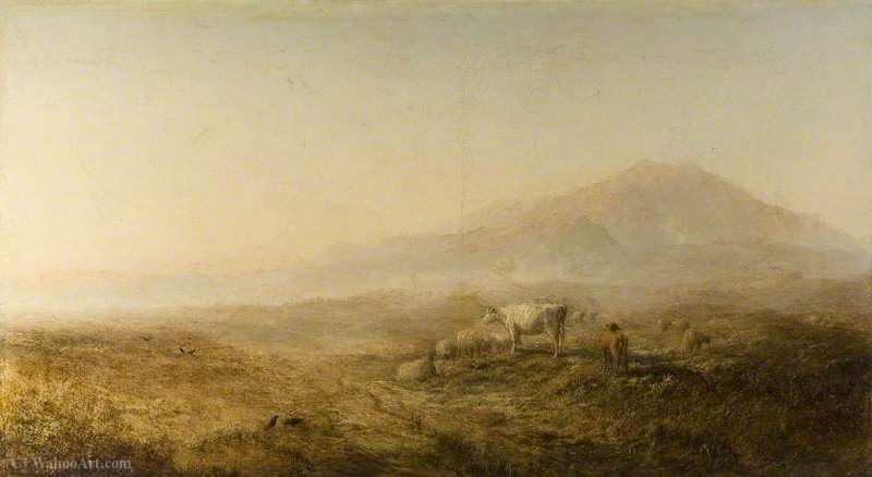 Autumn Morning, Isle of Skye by Alfred Walter Williams (1824-1905, United Kingdom)