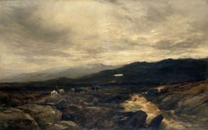 Alfred Walter Williams - On the Cumberland Fells
