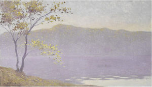 Alphonse Osbert - Autumn mist