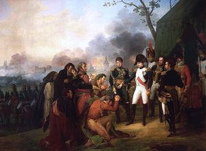 Antoine Charles Horace Vernet Aka Carle Vernet - Napoleon at the gates of Madrid in (1810)