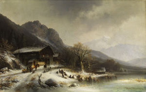 Anton Doll - Winter landscape