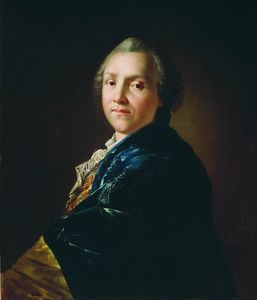 Anton Pavlovich Losenko - Portrait of the poet and playwright Alexander Petrovich Sumarokov