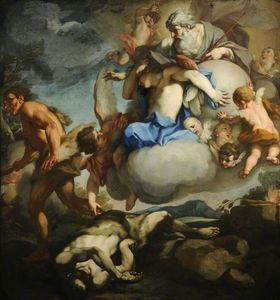 Order Museum Quality Copies | Cain and Abel by Antonio Balestra (1666-1740, Italy) | WahooArt.com