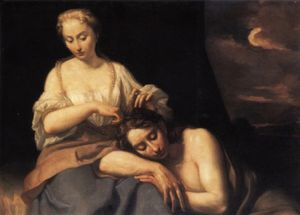 Antonio Gherardi - Samson and Delilah