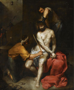 Antonio Maria Vassallo - The flagellation of christ