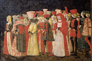 Apollonio Di Giovanni (Apollonio Di Tomaso) - Love procession