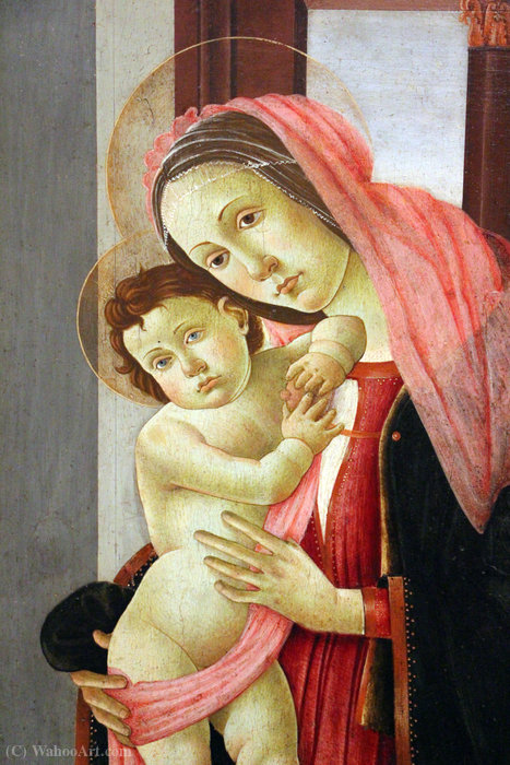 Madonna with child by Arcangelo Di Jacopo Del Sellaio (1442-1493, Italy)