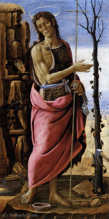 St John the Baptist by Arcangelo Di Jacopo Del Sellaio (1442-1493, Italy)