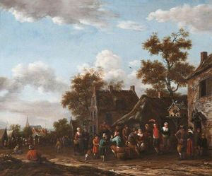 Barend Gael Or Gaal - A village fair