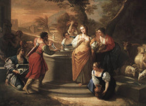 Benedetto Luti - Rebecca at the well