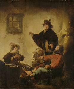Benjamin Gerritsz Cuyp - Joseph, the baker and butler their dreams