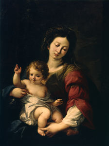 Carlo Francesco Nuvolone - Madonna and Child