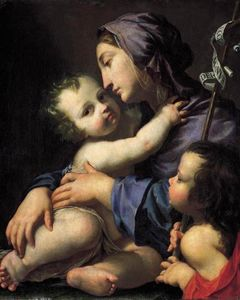 Cesare Dandini - Virgin and Child with St. giovannino
