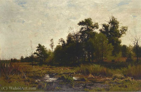 Marshlands by Charles Harry Eaton (1850-1901)