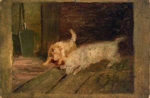 Charles Jones - Dogs at Play