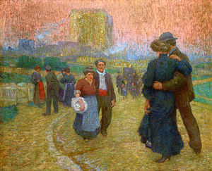 Claude Emile Schuffenecker - Evening walk