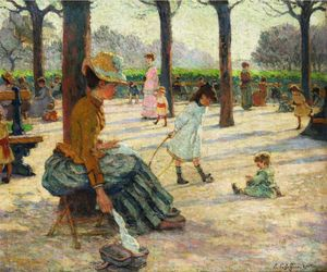 Claude Emile Schuffenecker - The luxembourg parc