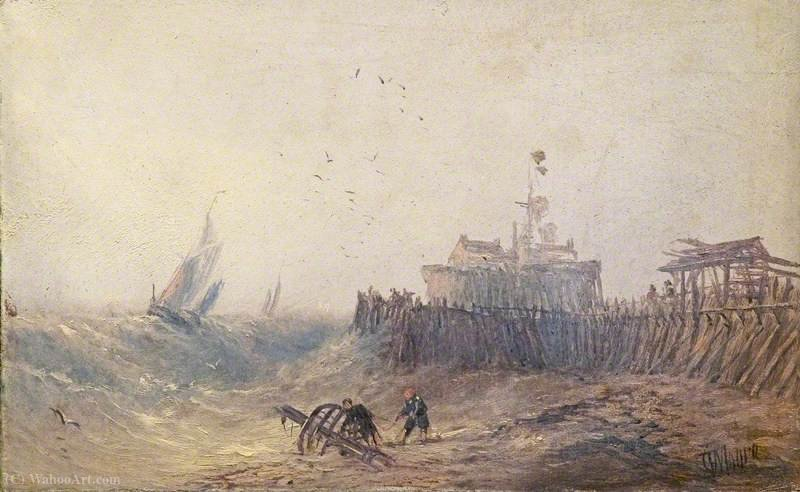 Order Reproductions | Calais sands by Claude Thomas Stanfield Moore (1853-1901, United Kingdom) | WahooArt.com