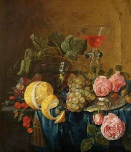 Cornelis De Heem - Fruit and Flowers