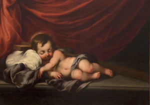 Cornelis I Schut - Jesus as a sleeping child