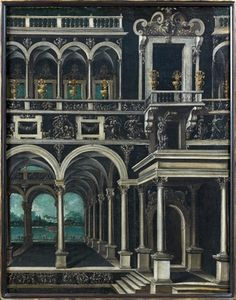 Didier Barra - Gantry of a palace