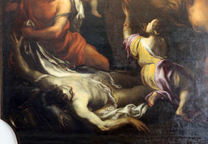 Domenico Piola - miracle of Blessed Savior from Horta, genoa