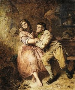 Edwin Thomas Roberts - Rory O'More courting Kathleen Bawn