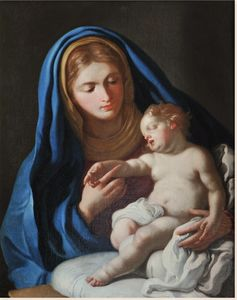 Francesco De Mura - Madonna with baby Jesu
