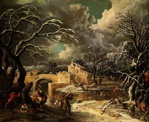 Francesco Foschi - Winter landscape