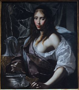 Francesco Furini - Artemisia Prepares to Drink the Ashes of her Husband, Mausolus.