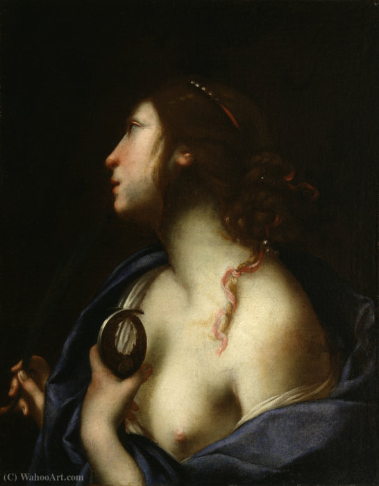 St. agatha by Francesco Furini (1603-1646, Italy)