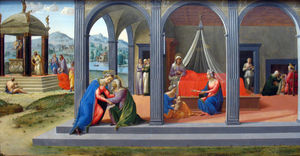 Francesco Granacci - Scenes from the life of Saint John the Baptist