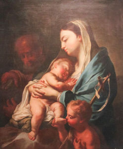 Francesco Trevisani - Madonna and Child with Infant St. John the Baptist and St. Joseph