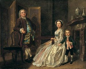 Francis Hayman - Grosvenor Bedford and His Family